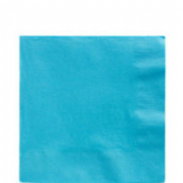 Caribbean Blue 2 Ply Luncheon Napkins 33cm (20)